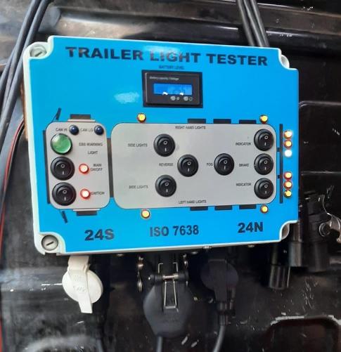 24 Volt HGV Trailer Tester