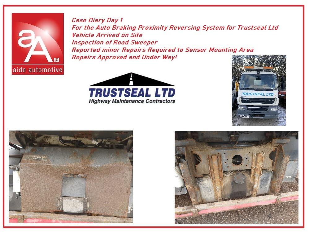 Safety Reverse Truck System
