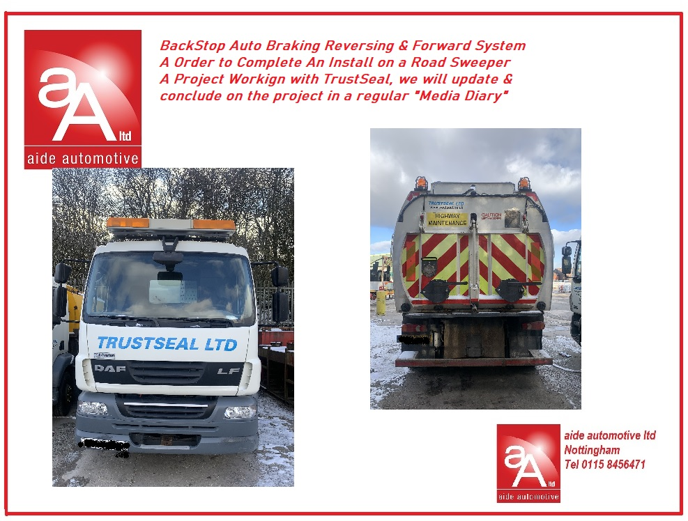 Road Sweeper Reversing Safety System