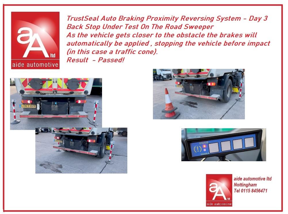 Auto Braking Safety Truck