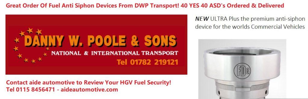 HGV Fuel Theft