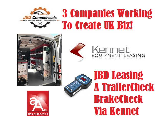 Trailer Service & Brake Testing By Just One Body!  Combined Tests of lighting, ABS-EBS-CAN circuits & all Air Brake systems on Trailers In One Unit.